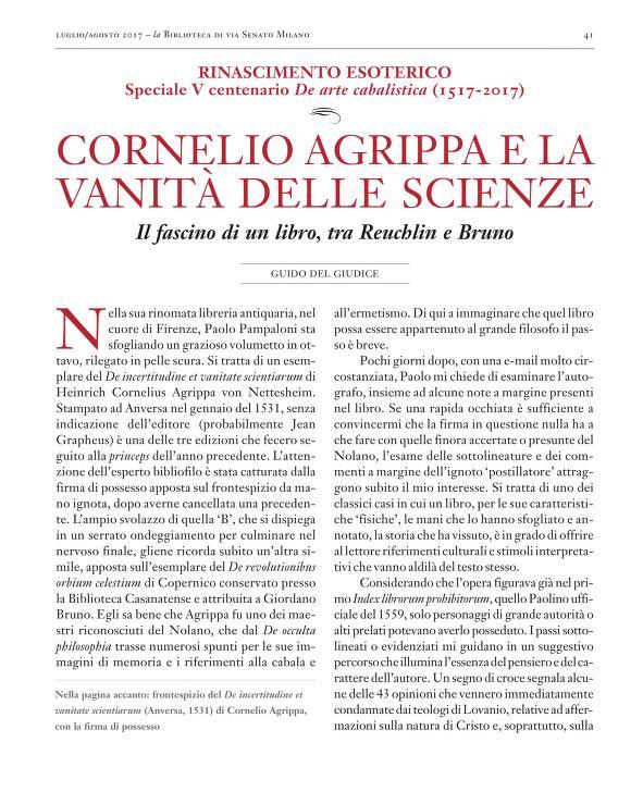 Cornelio Aprippa