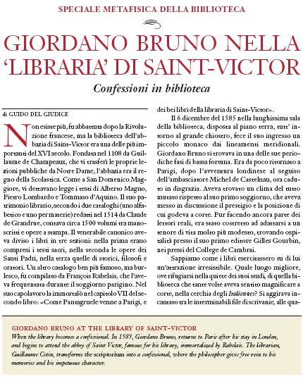 Articolo libraria Saint Victor